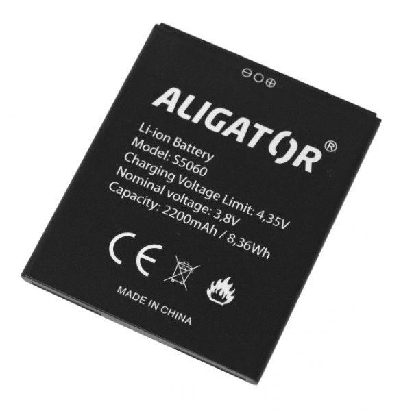 Akumulátor Aligator S5060 DUO - 2200 mAh - Li-Ion bulk