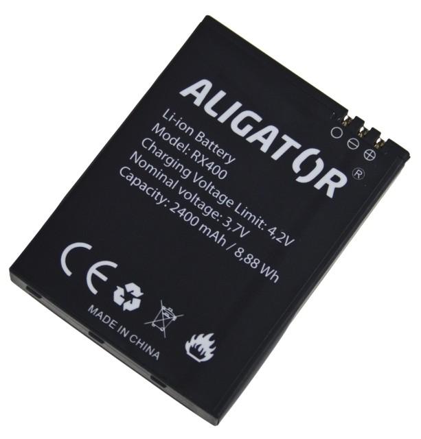 Batéria pre Aligator RX400 eXtremo - 2400 mAh - Li-Ion