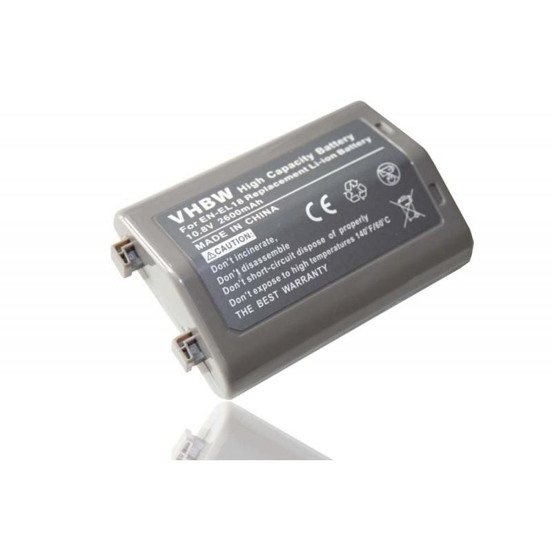 Batéria pre Nikon EN-EL18 2600mAh Li-Ion