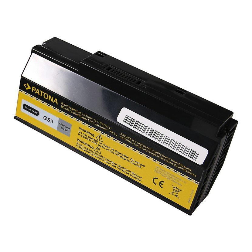 Batéria pre ASUS G53/G73 4400mAh Li-Ion 14,8V A42-G53