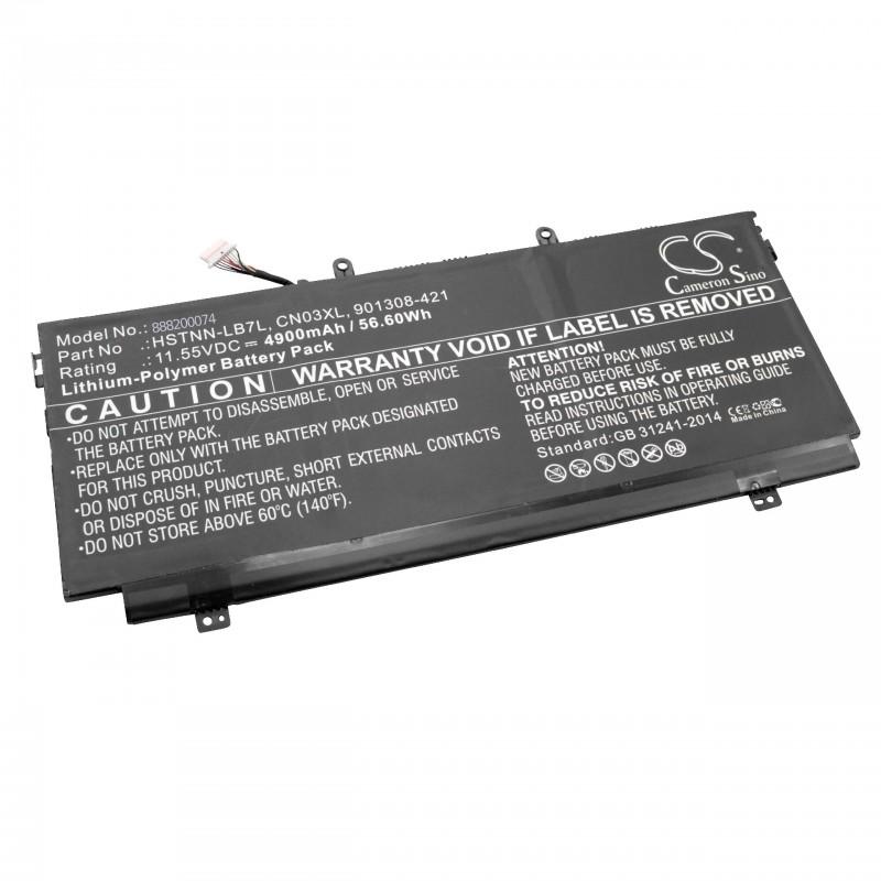 Batéria pre HP Comp. Spectre X3 4900mAh Li-pol 11,55V SH03