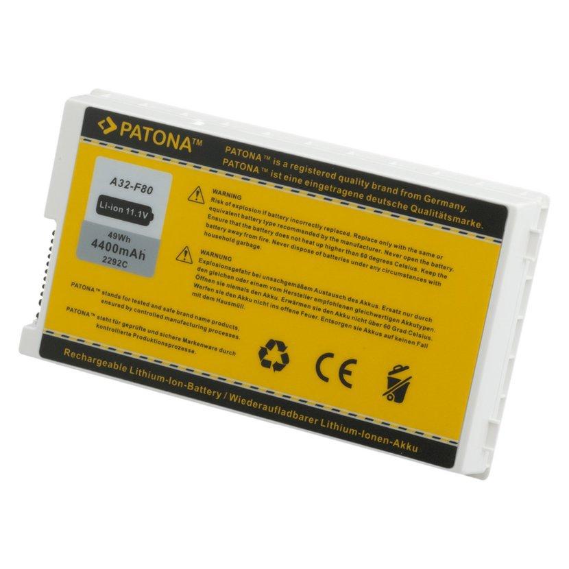Batéria pre ASUS A32-F80 4400mAh Li-Ion 11,1V, biela