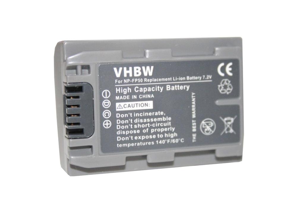 Batéria pre Sony NP-FH50 500mAh Li-Ion