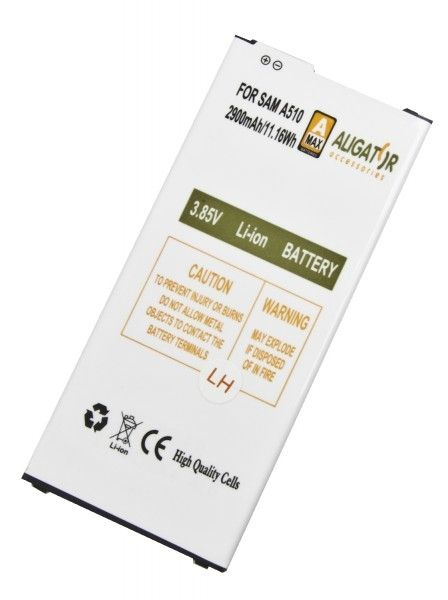 Akumulátor pre Samsung A510F Galaxy A5 2016 Li-Ion 2900 mAh, nahrazuje EB-BA510ABE