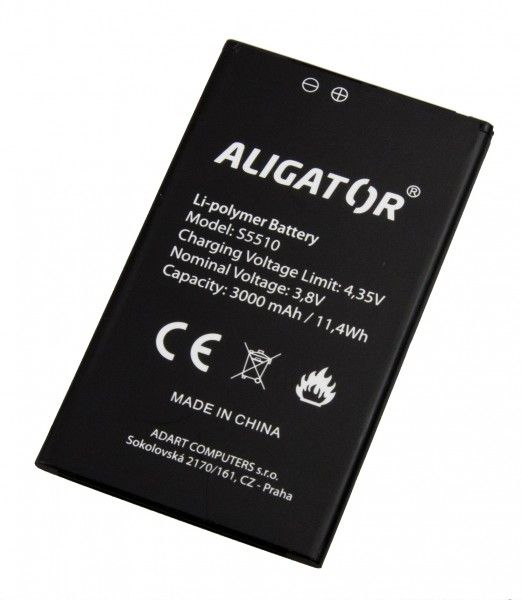 Akumulátor Aligator S5510 DUO - 3000 mAh - Li-Ion bulk