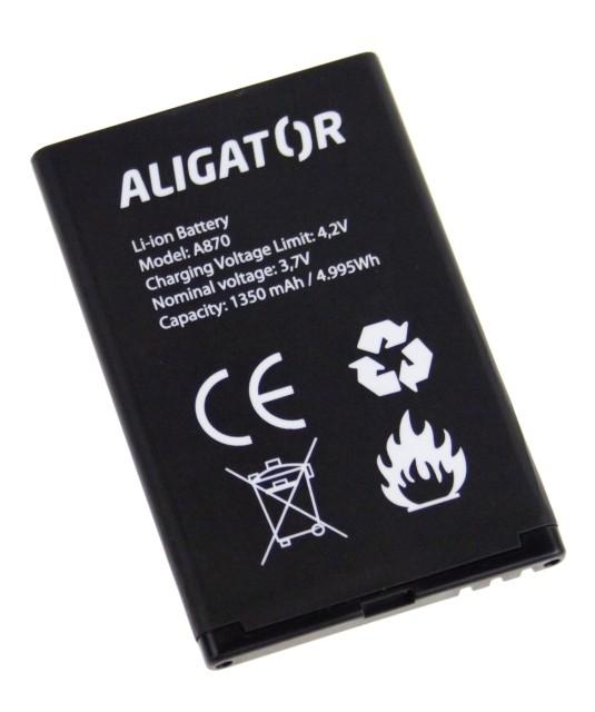 Batéria pre Aligator A800, A850 - 1700 mAh - Li-Ion