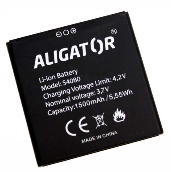 Akumulátor Aligator S4080 DUO - 1500 mAh - Li-Ion bulk