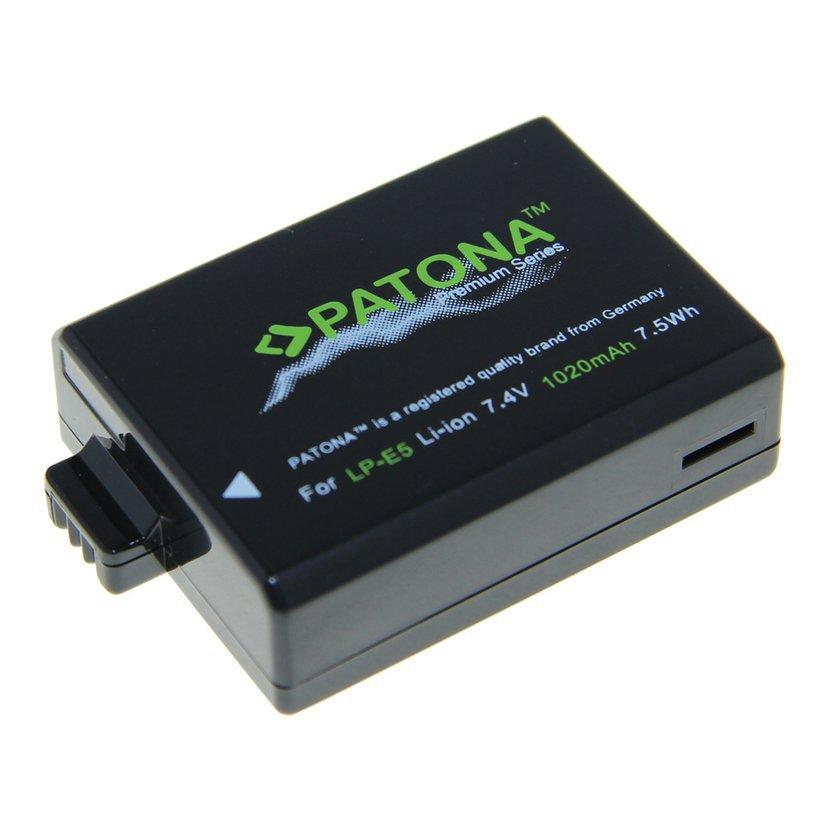 Batéria pre Canon LP-E5 1020mAh Li-Ion Premium