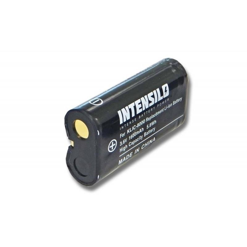 Batéria pre Kodak KLIC-8000 1600mAh Li-Ion