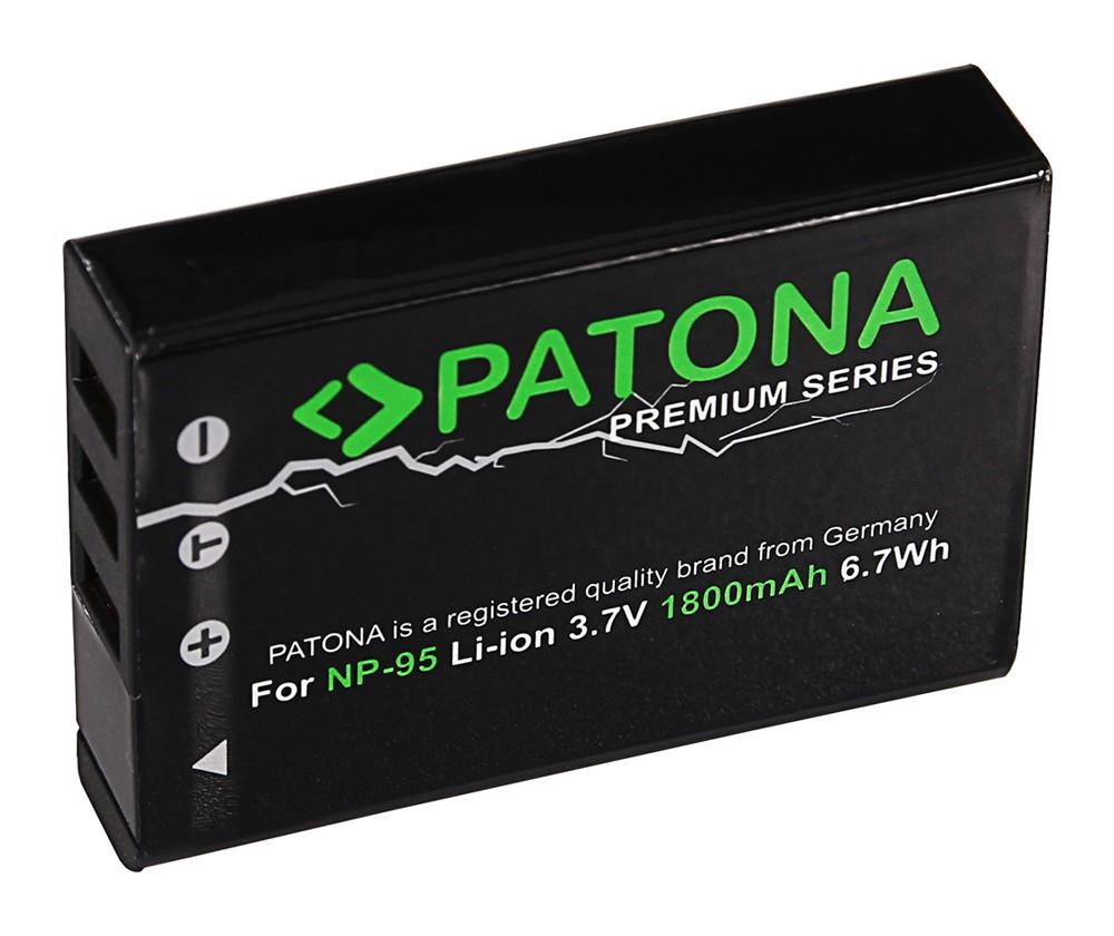 Batéria pre Fuji NP-95 1800mAh Li-Ion Premium