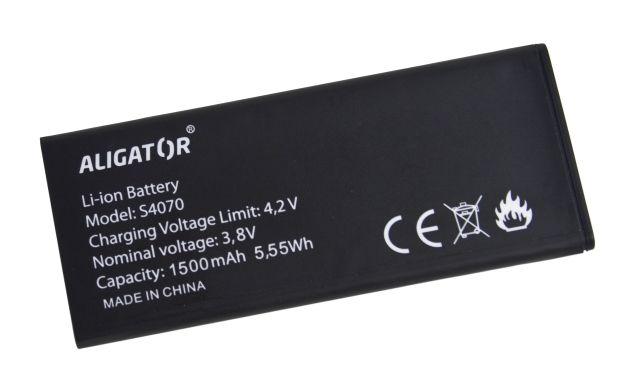 Batéria pre Aligator S4070 DUO - 1500 mAh - Li-Ion bulk