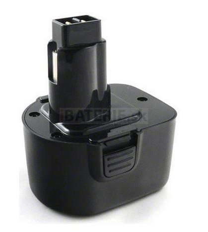 Batéria pre skrutkovače Black & Decker CD12CA, CD12CAB, CD12CAH, CD12CBK, CD12CE - 12V Ni-MH 2000 mAh