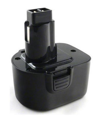 Batéria pre skrutkovače Black & Decker CD431, CD431K, CD431K2 - 12V Ni-MH 2000 mAh