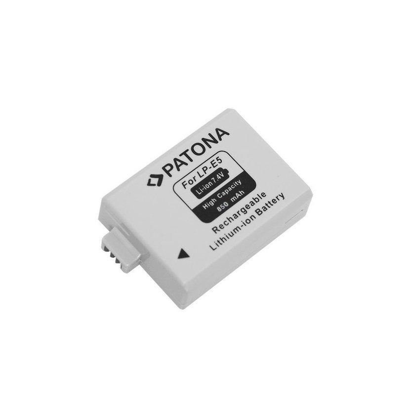 Batéria pre Canon LP-E5 850mAh Li-Ion