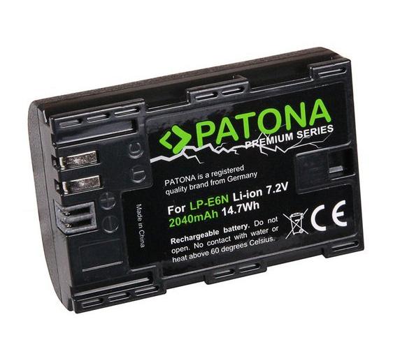Batéria pre Canon LP-E6N 2040mAh Li-Ion Premium