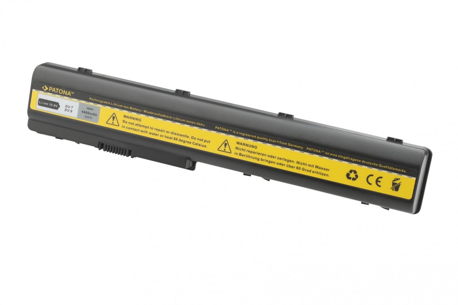 Batéria pre HP PAVILION DV7 4400mAh Li-Ion 11,1V !