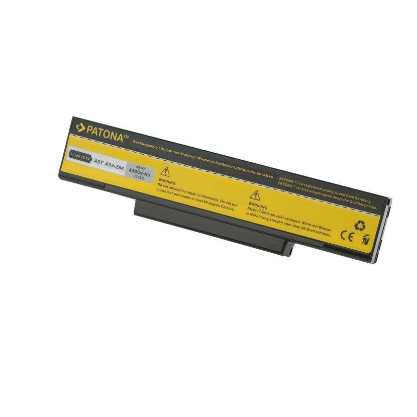 Batéria pre ASUS A9/F3 4400mAh Li-Ion 11,1V