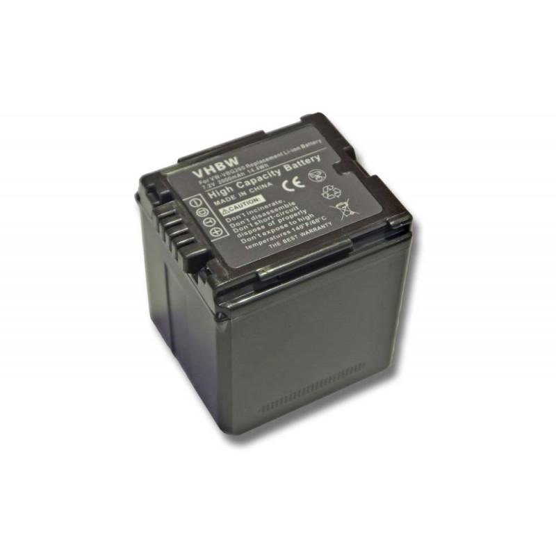 Batéria pre Panasonic VW-VBG260 2000Ah Li-Ion