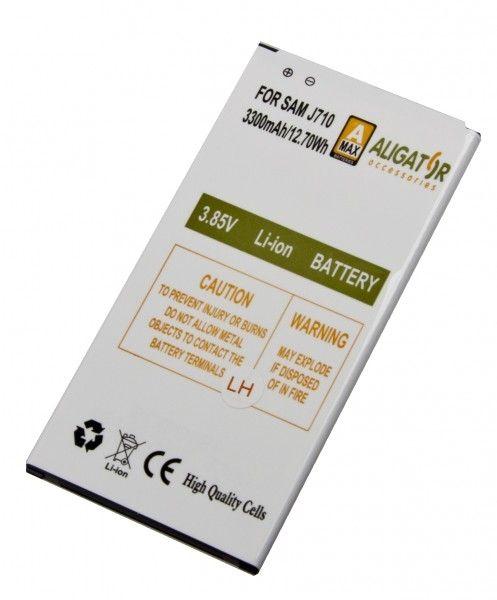 Akumulátor pre Samsung J710F Galaxy J7 2016 Li-Ion 3300 mAh, nahrazuje EB-BJ710CBE
