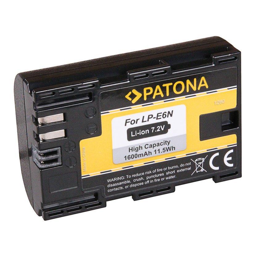 Batéria pre Canon LP-E6N 1600mAh Li-Ion 80D