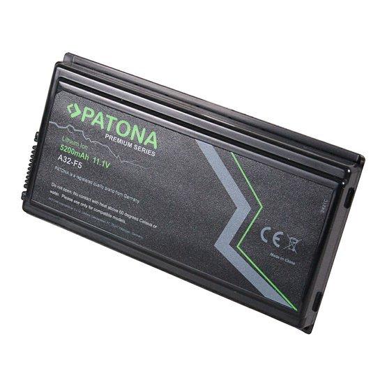 Batéria pre ASUS F5, X50 5200mAh Li-Ion 11,1V PREMIUM