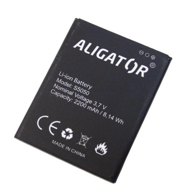 Batéria Aligator S5050 DUO - 2200 mAh - Li-Ion bulk