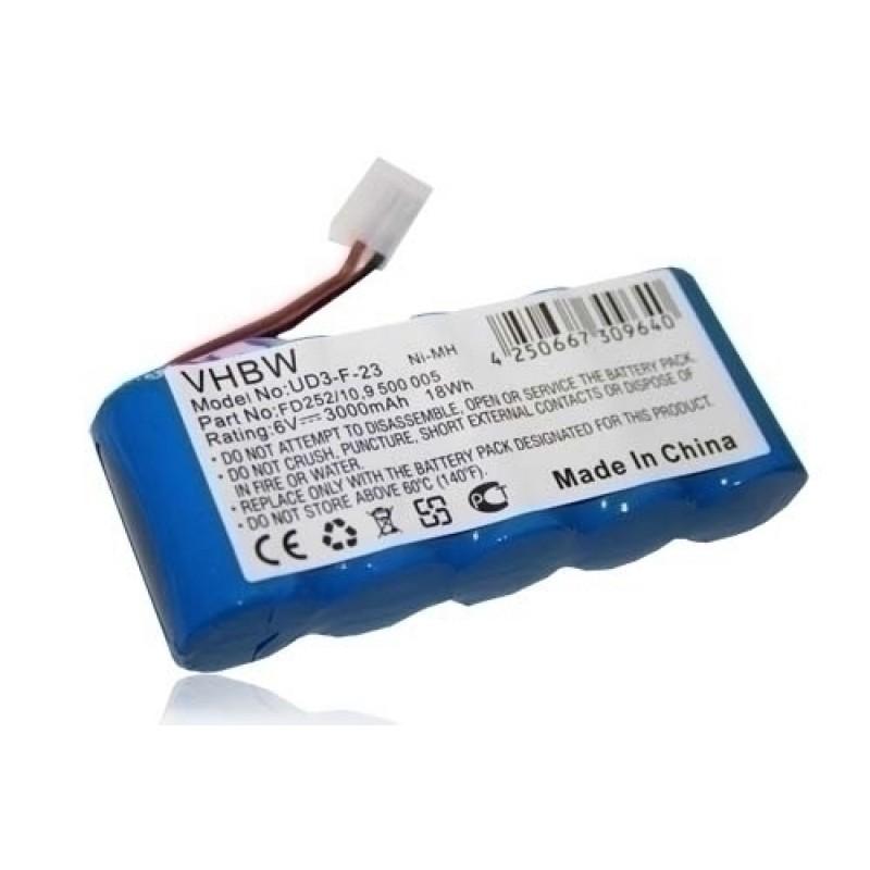 Batéria pre Bosch Rollfix / Somfy 6,0V 3000mAh Ni-Mh