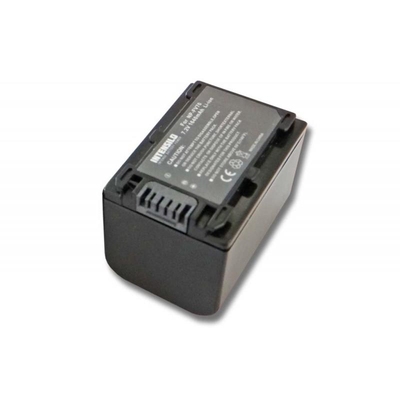 Batéria NP-FV50 pre kameru Sony HDR-PJ230, HDR-PJ10e, HDR-XR260V, XR155, HDR-CX220, CX200, DCR-SX65 - 1600 mAh
