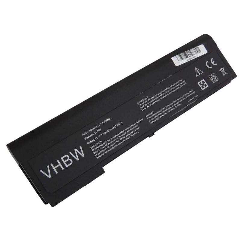 Batéria pre HP EliteBook 2170p 6600mAh Li-Ion 11,1V