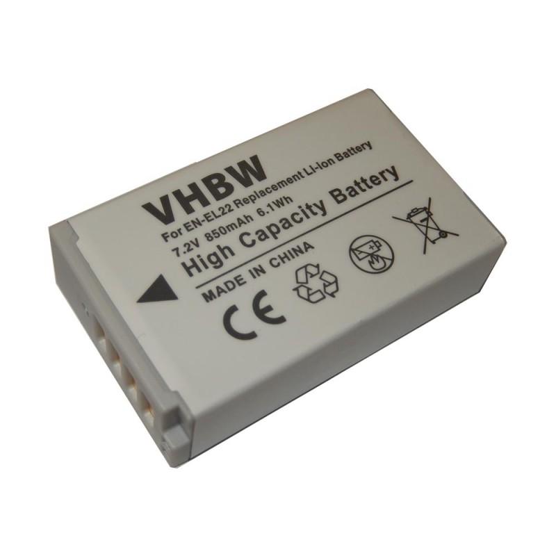 Batéria pre Nikon EN-EL22 850mAh Li-Ion
