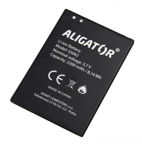 Akumulátor Aligator S5062 DUO - 2200 mAh - Li-Ion bulk