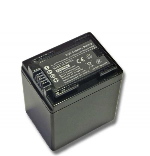Batéria pre Canon BP-727 (2400 mAh) Li-Ion