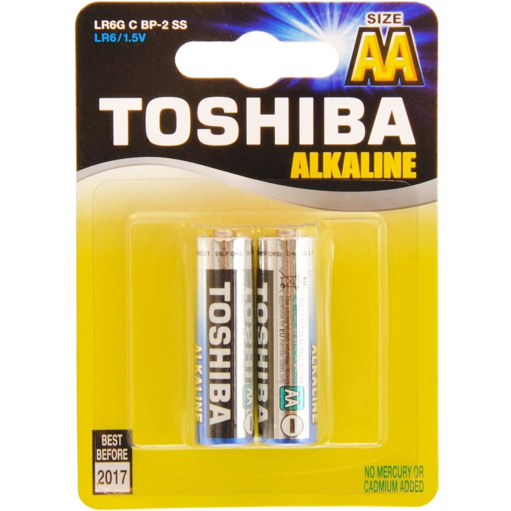 Alkalická tužková AA batéria Toshiba 1ks