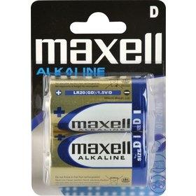 Batéria monočlánek LR20 D Maxell 2ks