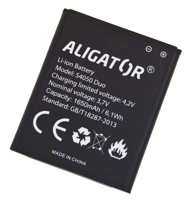 Batéria Aligator S4050 DUO - 1650 mAh - Li-Ion bulk