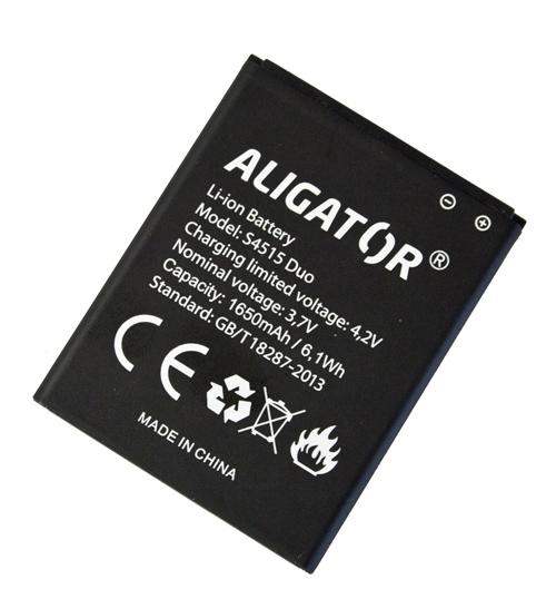 Batéria Aligator S4515 DUO - 1650 mAh - Li-Ion bulk
