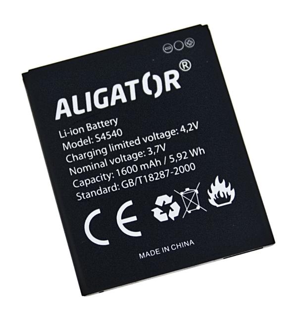 Batéria Aligator S4540 DUO - 1600 mAh - Li-Ion bulk