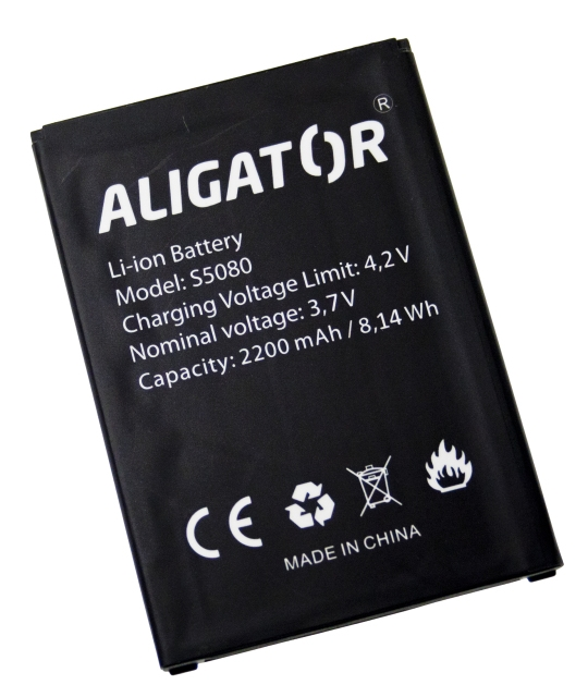 Batéria Aligator S5080 DUO LTE - 2200 mAh - Li-Ion bulk