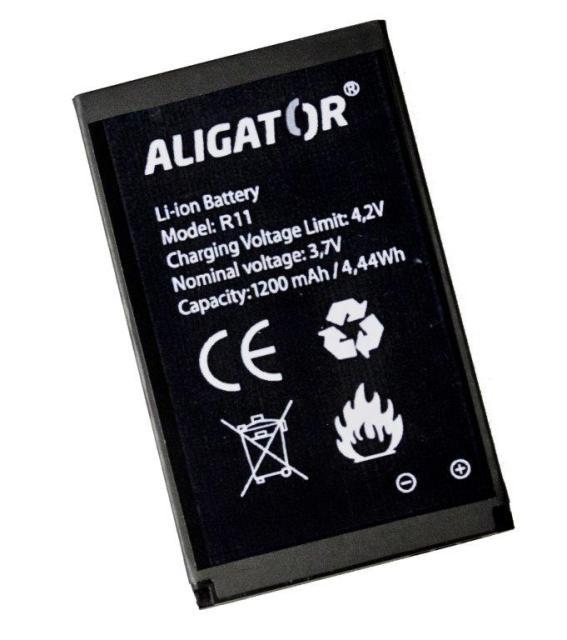 Batéria Aligator R11 eXtremo - 1200 mAh - Li-Ion