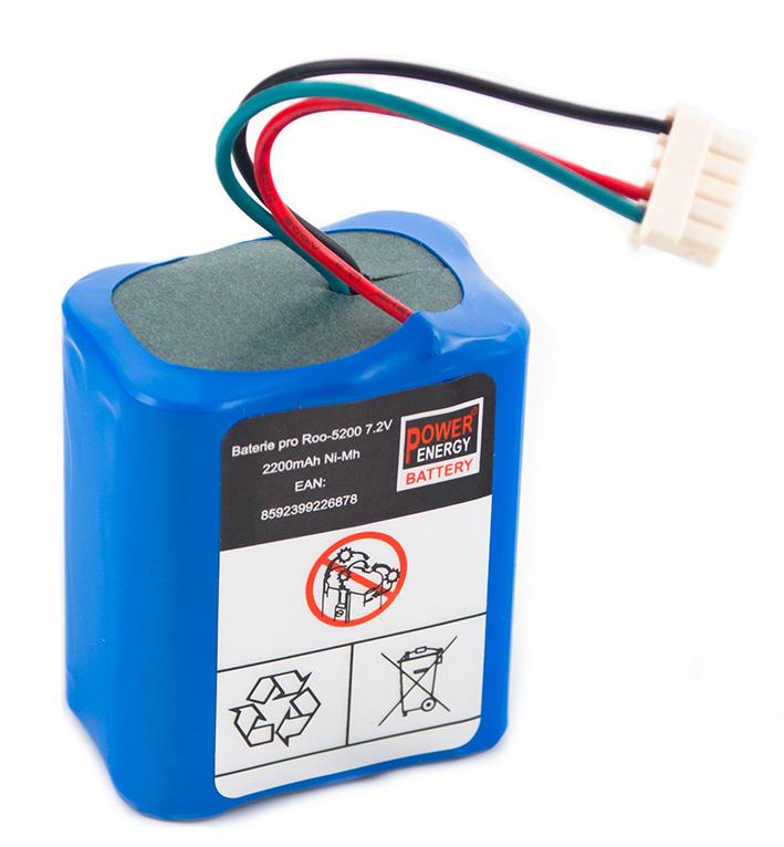 Akumulátor pre iRobot Braava 380, 380T, Mint 5200, 5200B 5200C - 2200 mAh