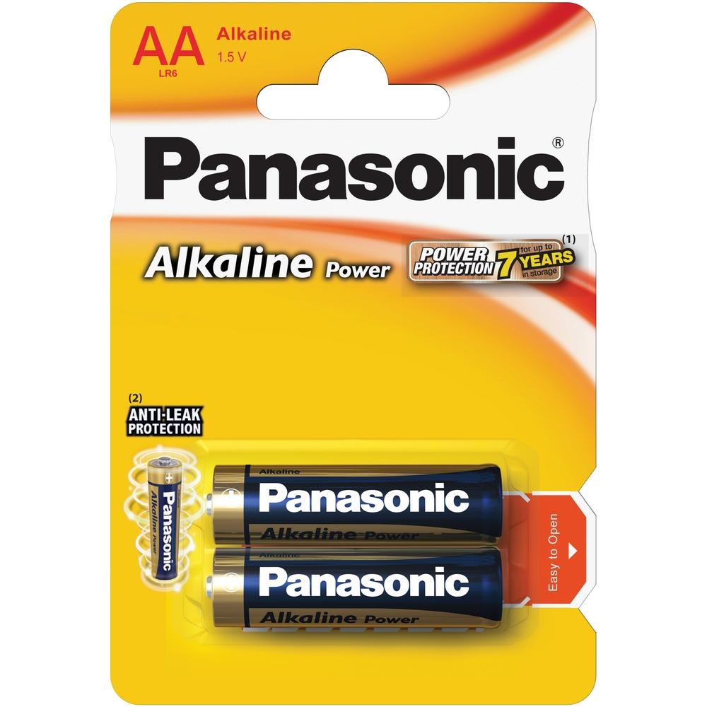 Alkalická tužková AA akumulátor Panasonic 1ks
