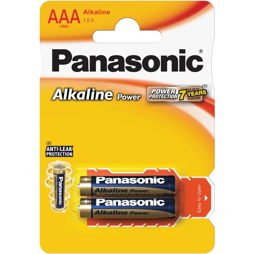 Alkalická mikrotužková AAA akumulátor Panasonic 1ks