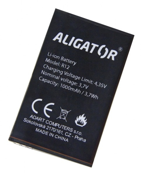 Akumulátor Aligator R12 eXtremo - 1000 mAh - Li-Ion