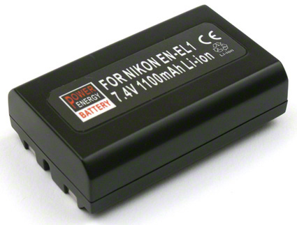 Batéria EN-EL1 (1100 mAh) pre Nikon Coolpix 4300, 4500, 4800, 5000, 5400, 5700, 8700