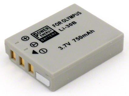 Batéria Li-30B (550mAh) pre Olympus Stylus Verve, MJU-mini Digital, Stylus Verve S, MJU-mini Digital S