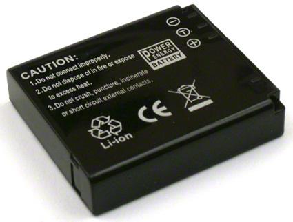 Batéria pre Panasonic CGA-S005E, CGA-S005, CGR-S005, DMW-BCC12, DMWBCC12, CGA-S005A/1B - 1150 mAh