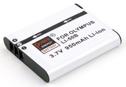 Batéria pre Olympus LI-50B, Pentax D-Li92, Ricoh DB-100 - 950 mAh