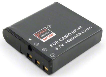 Batéria NP-40 (1400 mAh) pre Casio Exilim fotoaparáty