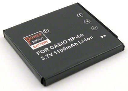 Batéria NP-60  (1100 mAh) pre Casio fotoaparáty