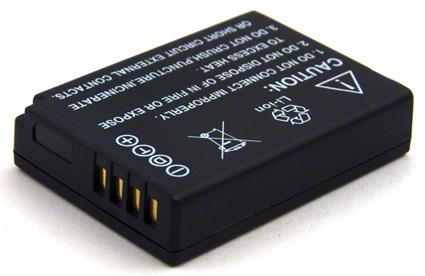 Batéria pre DMW-BCG10 (1000mAh) akumulátor pre Panasonic